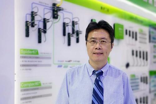 宜科(天津)电子有限公司总经理张鑫