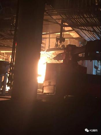 电石炉出炉机自动化代替人工作业