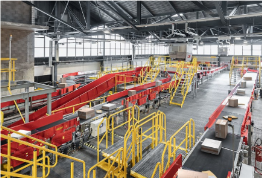 魏德米勒,DHL物流公司传送带沿线便捷分布式配电.png