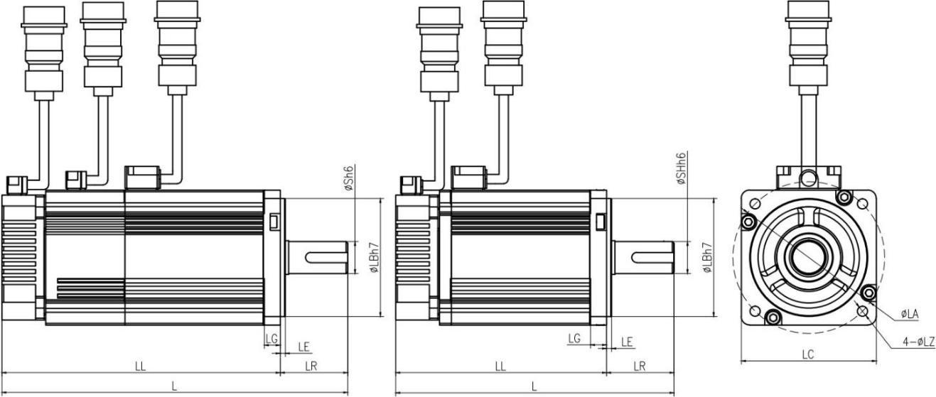 伺服电机产品图