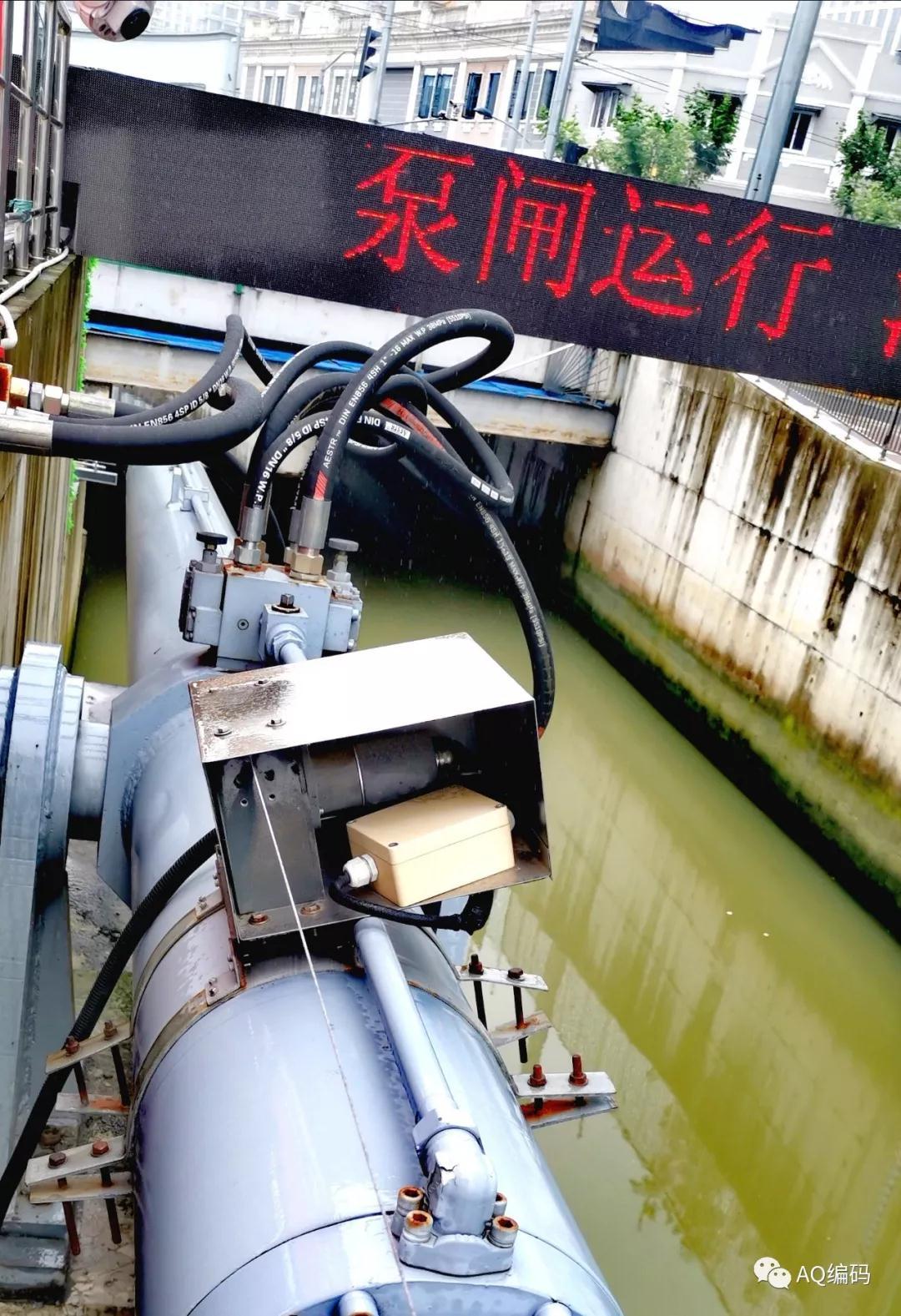 虹口港主閘油缸上的精浦編碼器.jpg