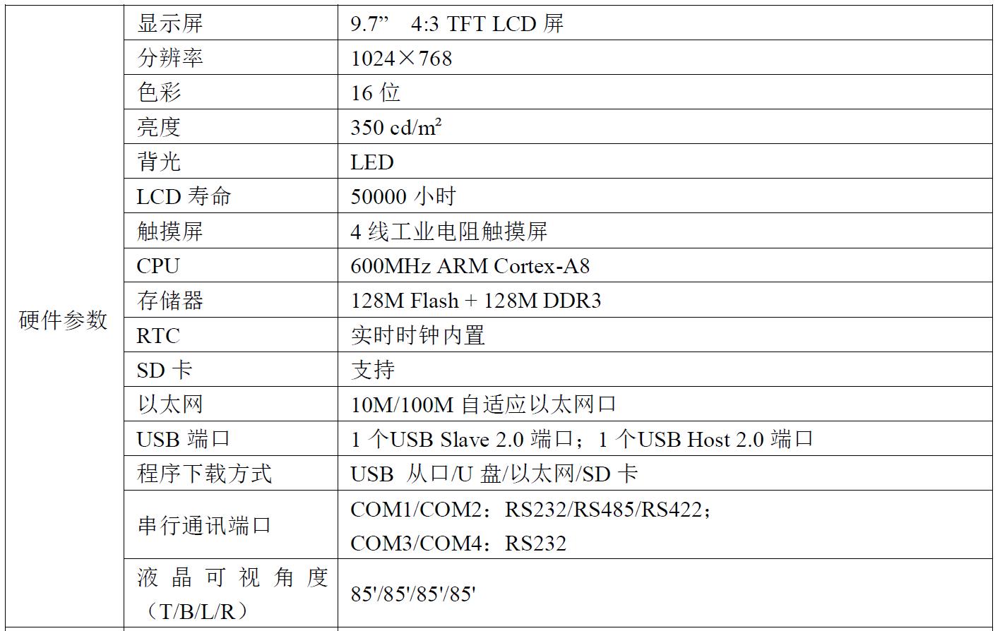 迈信MF8000系列MF8097CE人机界面
