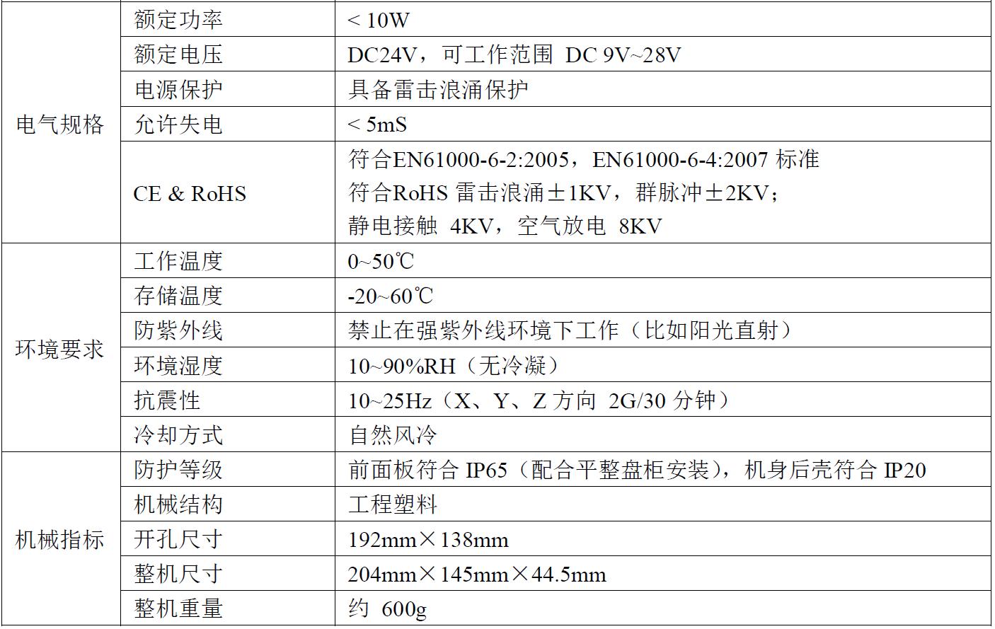 迈信MF8000系列MF8070CE人机界面