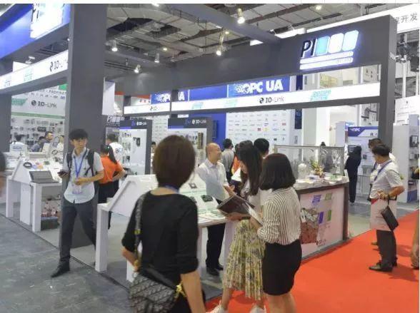 图尔克与IO-Link中国委员会联合展台强势登陆上海工业博览会