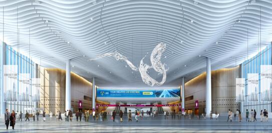 深圳國際會展中心效果圖