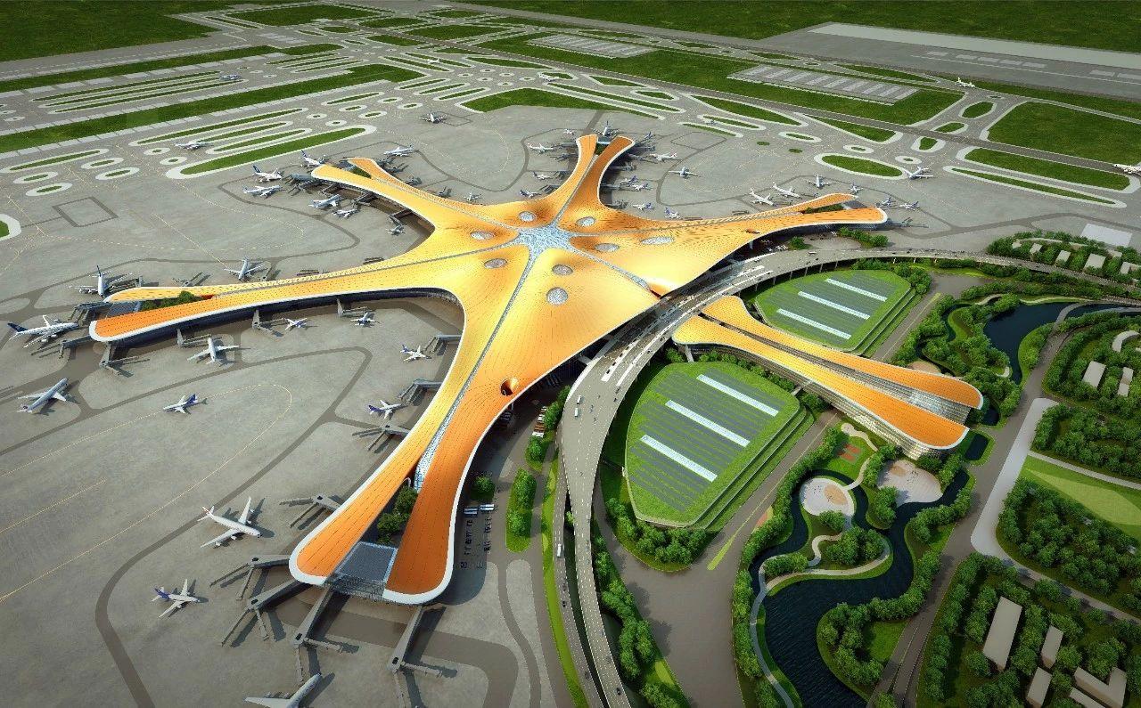 万可超级工程助北京大兴机场凤凰腾飞