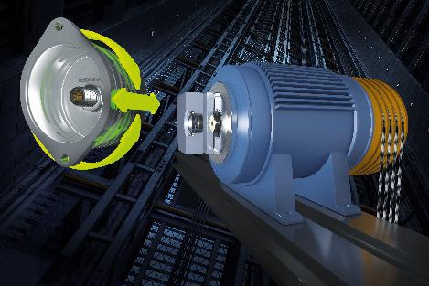 電梯的KCI 419 Dplus旋轉編碼器