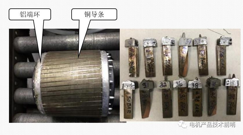 銅鋁混合結構感應電機