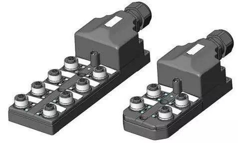 端子接線式無源分線盒 & M12現場接線式接插件