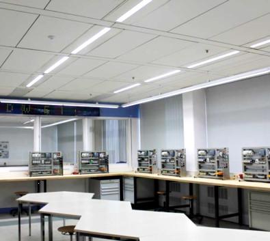 万可智能照明方案点亮德国福特培训中心