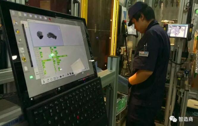 智能手套提高人工操作效率