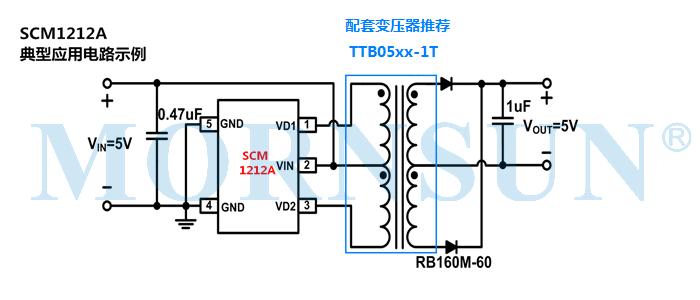 定压推挽控制芯片SCM1212A,高效集成三项关键技术!