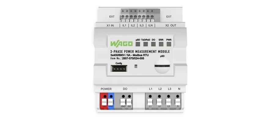 新型三相电力转换模块,带有Modbus RTU接口
