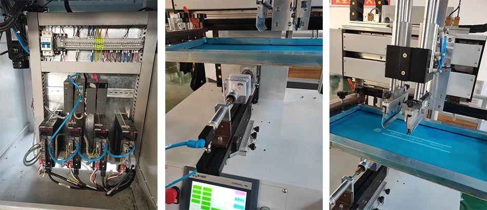 合信A4伺服应用于丝网印刷机