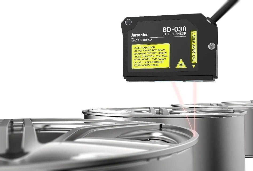【奥托尼克斯】即将上市 | 激光位移传感器BD系列