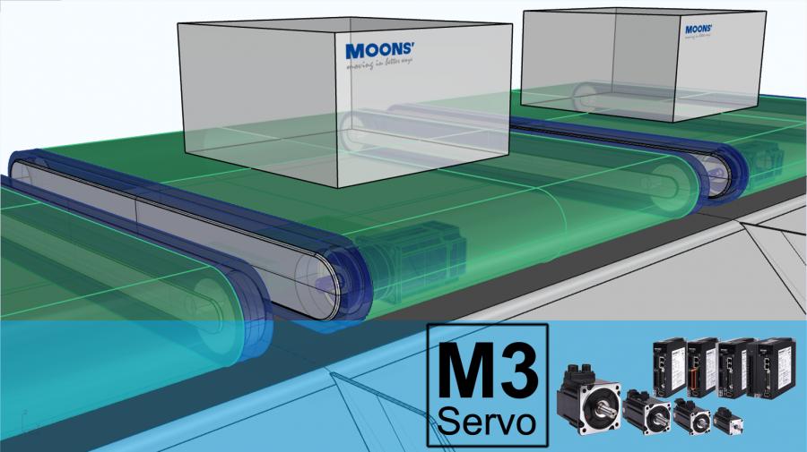 鸣志M3伺服产品在分拣系统应用分享
