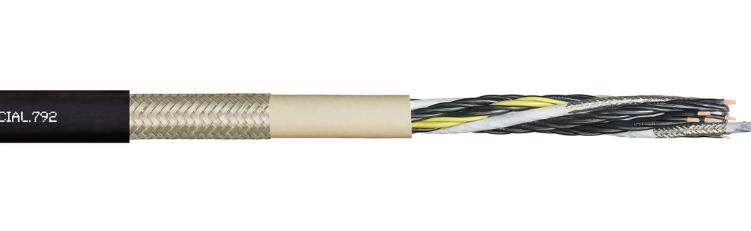 易格斯 chainflex® PUR 高柔性混合电缆