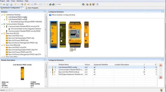 皮尔磁:PNOZmulti Configurator更新:安全操作模式选择和安全上电