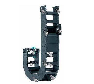 R18840系列拖管,可从两侧打开或闭合