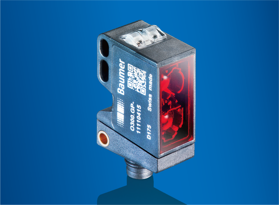 堡盟O300光电传感器在气缸生产线中的应用