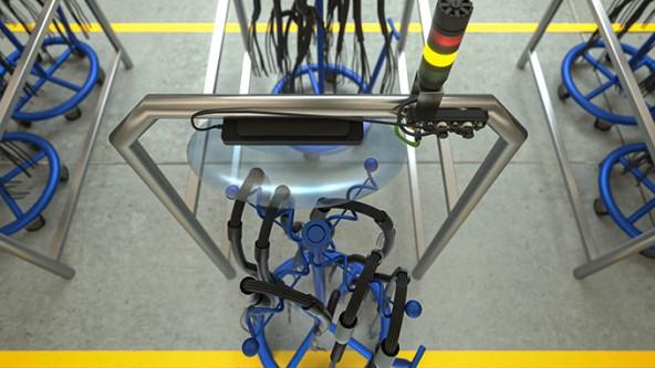 使用RFID技术对冷却站进行分布式监测