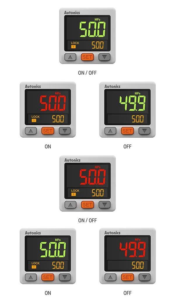 PSK系列2段显示型压力传感器