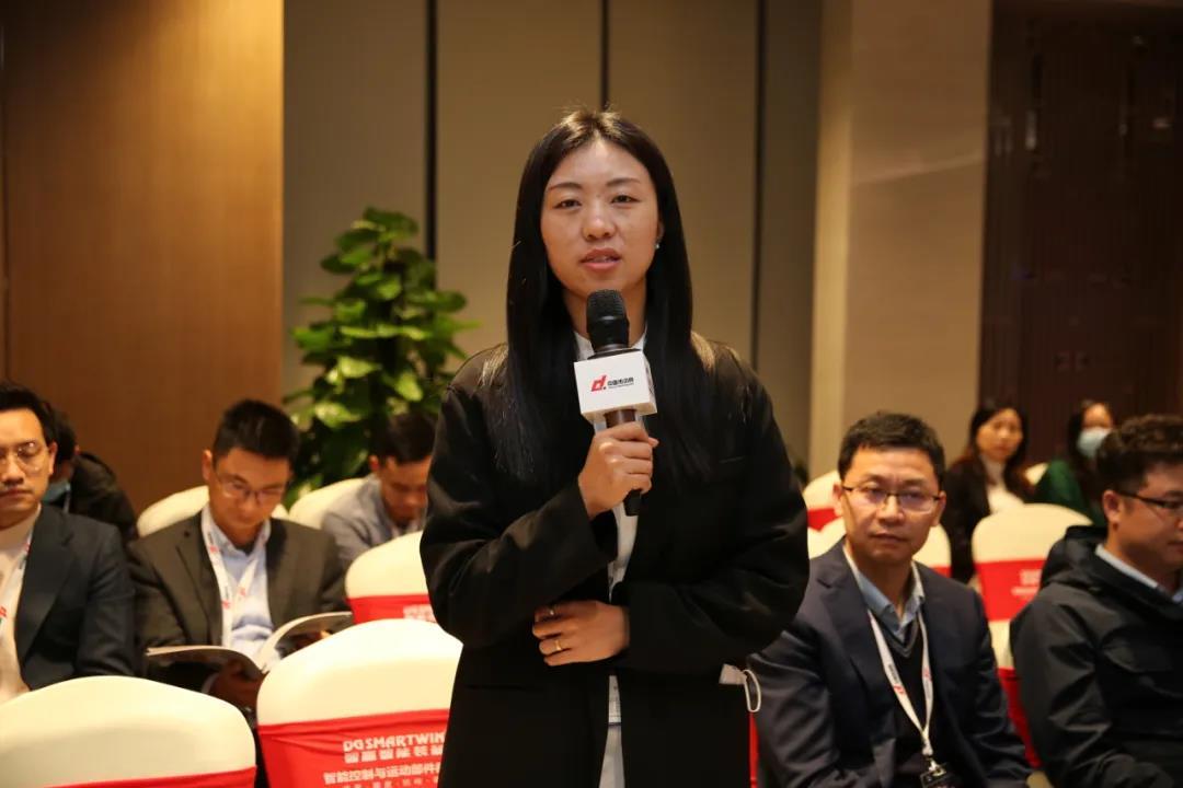 中国直驱产业联盟副理事长单位 科尔摩根市场部经理王唯唯