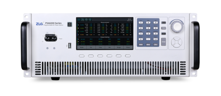 ZLG PSA6000 系列高性能可编程交流电源