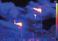 红外热成像技术应用于有害气体泄露检测