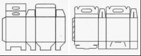 典型挂口式包装纸盒模型.png